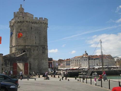 St Nicholas tower in La Rochelle