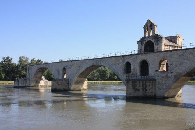 Avignon's historic centre