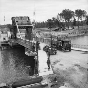Pegasus Bridge, courtesy of the Imperial War Museum