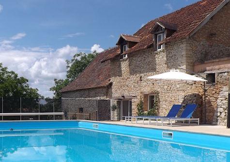 Gite Tilleul pool