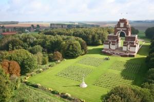 Picardy war memorial