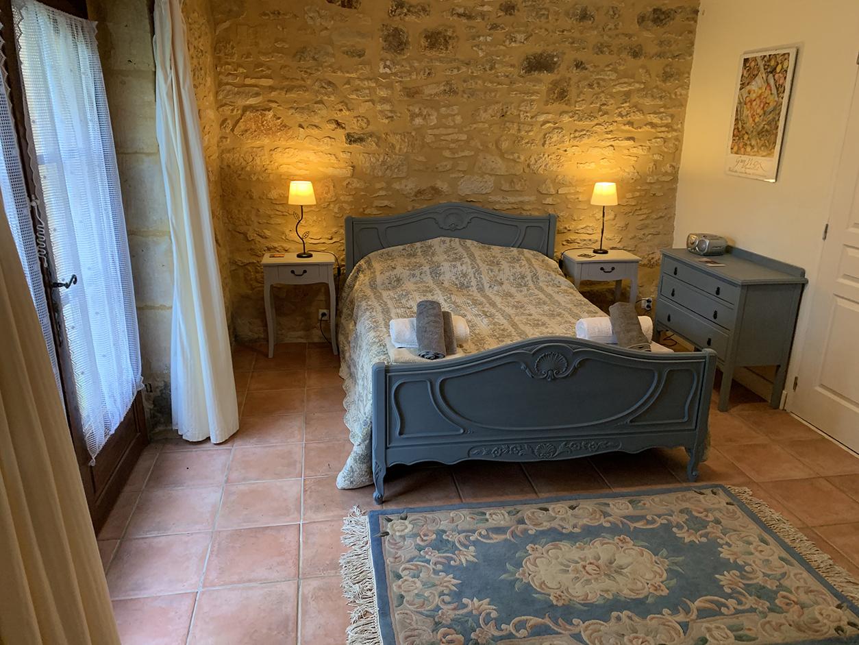 Dordogne gite bedroom