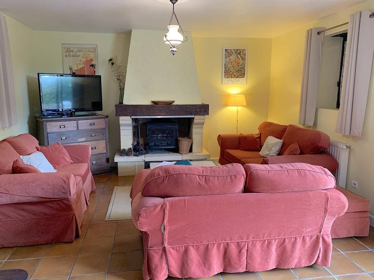 Dordogne gite lounge