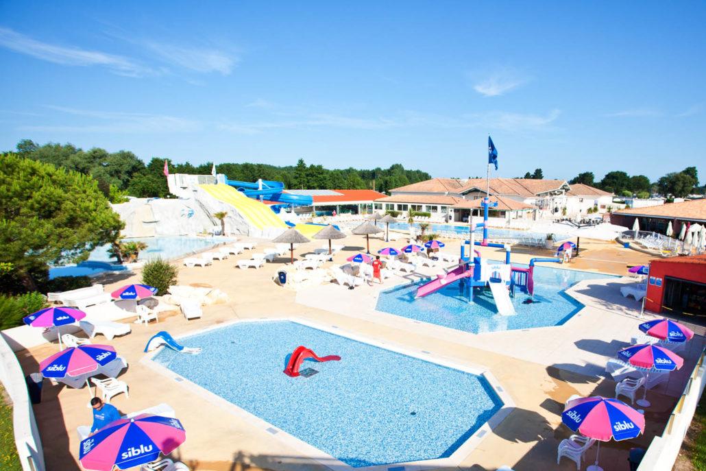 siblu holiday park france pool
