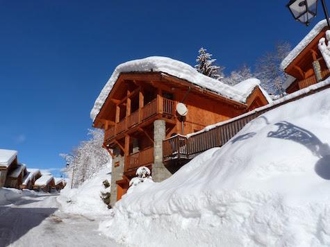 Auberge ski accommodation French alps