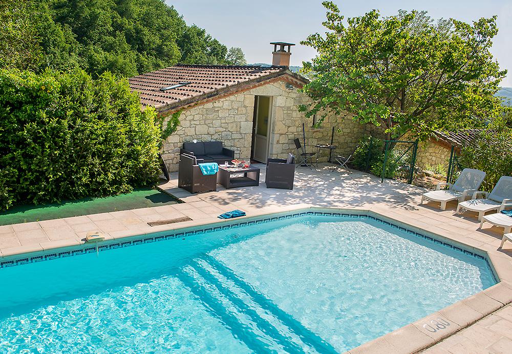 France villa pool