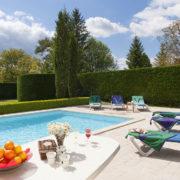Vintage Travel french gite pool