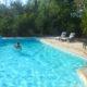 poplar house loire valley gite swimming pool