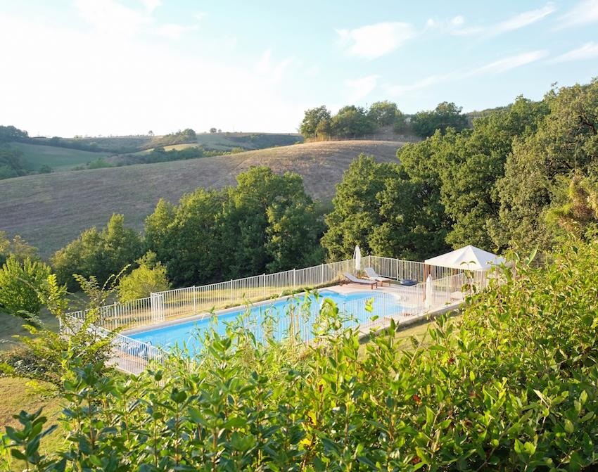 The Grange Gite pool
