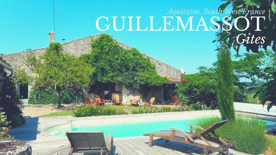 Guillemassot gites, Aquitaine