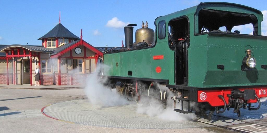 St. Valery steam train