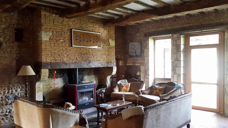 Chateau Duviella lounge