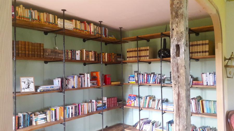 Chateau Duviella library