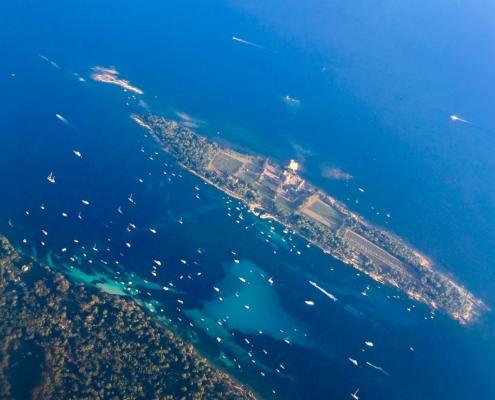 lerins islands, south of france