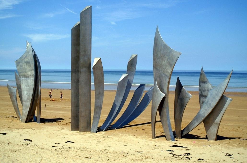 omahar beach Normandy