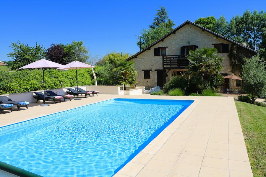 acabanes luxury villa Dordogne France