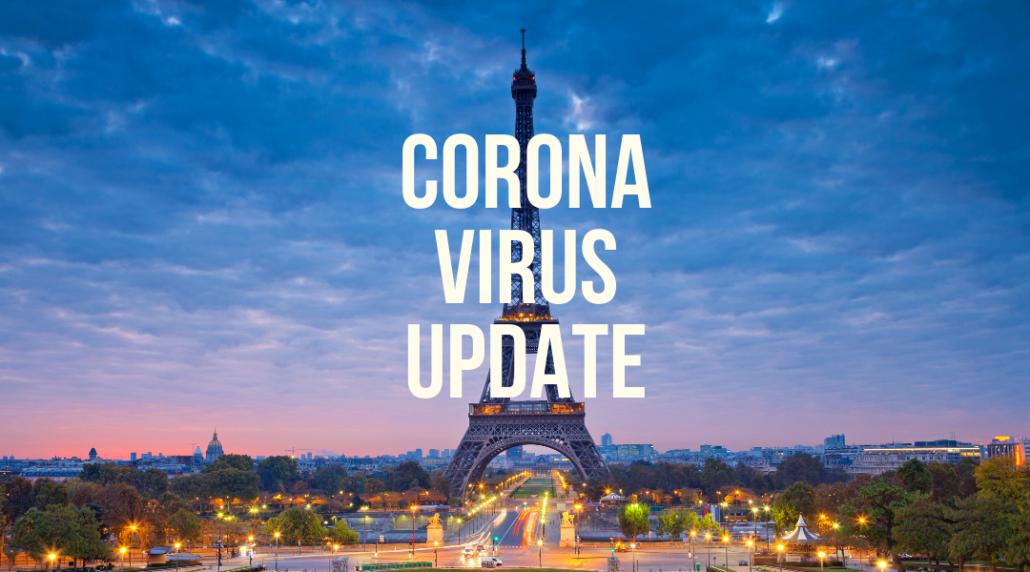 Coronavirus update travel to France